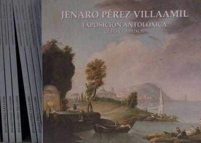 Jenaro Pérez Villaamil Exposición Antolóxica